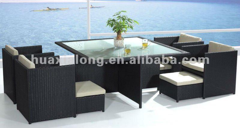 mobiliario de jardim em rattan sintetico:Mobília ao ar livre/mobília do rattan de vime-Sofás de jardim-ID do