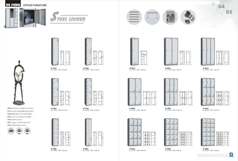 Cube Lockers Equipment Lockers Warehouse Lockers With 4