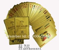 Specializing in the production of gold foil 87mm 57 * 63 * 87mm a variety of advertising playing cards