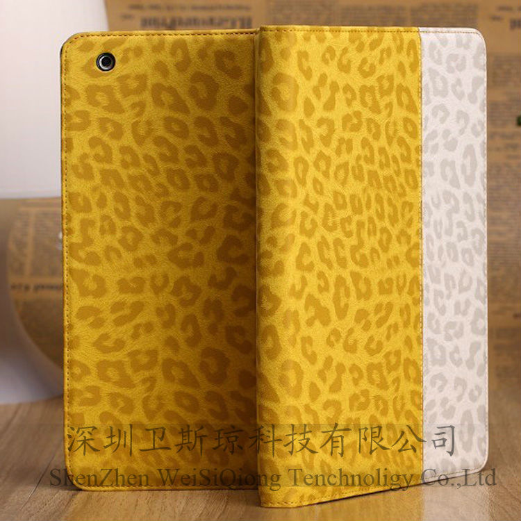 For ipad case new leather folio style