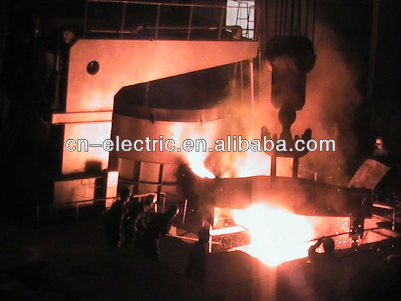 Arc Furnace For Melting Steel, Iron Scrap