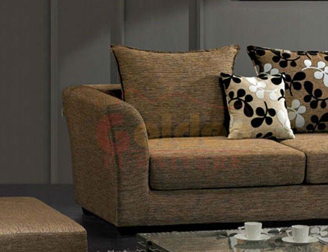 Grey color fabric sofa various types of sofas buy types - Tipos de telas para sofas ...