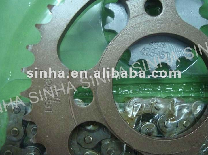 CG125 428-38T Motorcycle Chain Sprocket