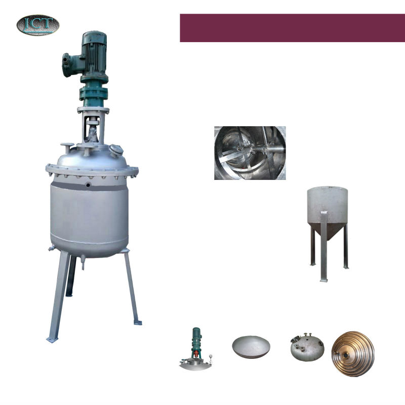JCT embroidery adhesive spray making reactor