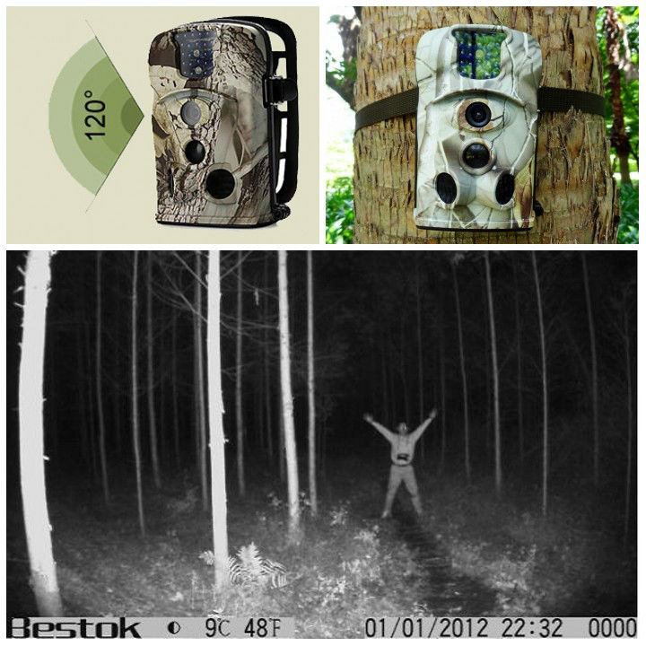 newest!12mp infrared hunting camera trail camera hunting trail camera