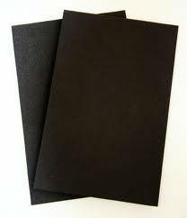 High Quality Waterproof PVC Sheets Black