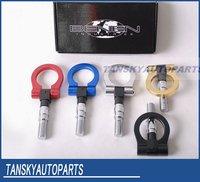 гонки алюминиевый Буксировочный крючок для японского автомобиля / универсальный Буксировочный крючок комплект для японских автомобилей tk-rth001