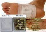 China detox foot patch by TNT, ups, fedex, ems