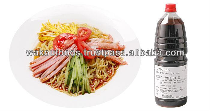 Nousyuku hiyashi chuka soup (No.25) concentrated sauce for cold noodle 1.8L