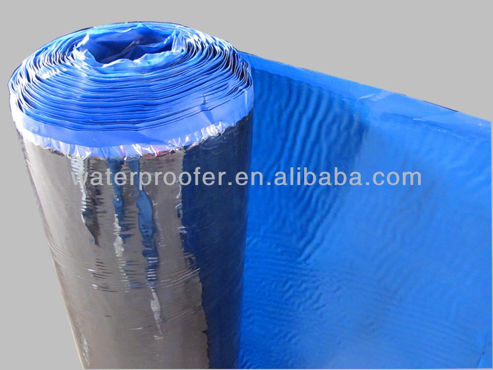 Rolling Elastomeric self-adhesive asphalt waterproofing roof membrane