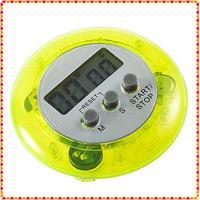 1шт мини-время желтый цифровой кухне отсчет lcd таймер будильник yks