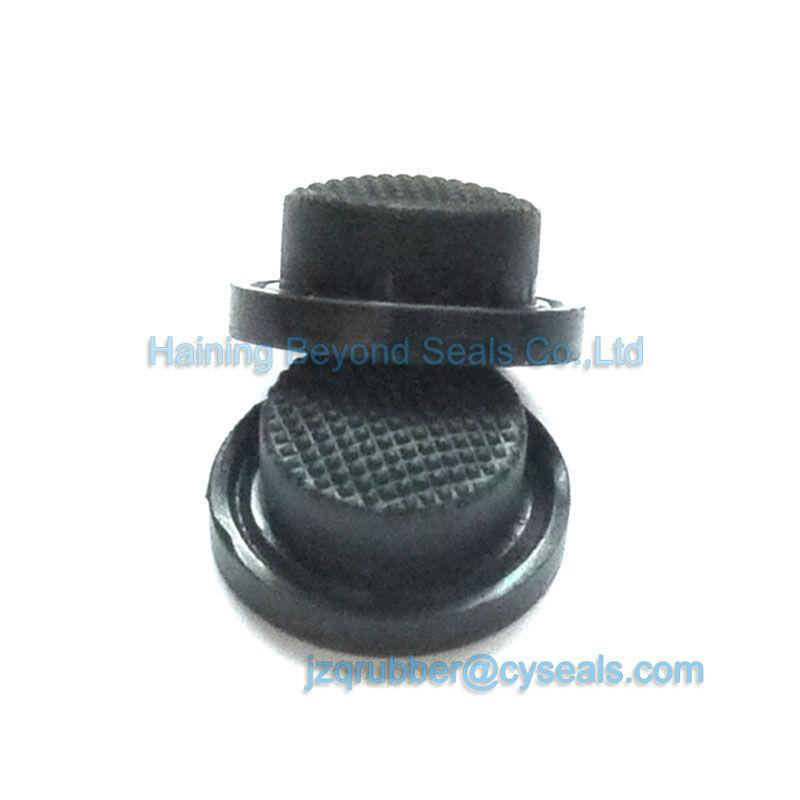 Personnalisé soft en caoutchouc silicone push button_silicone button_silicone push button pour éblouissement lampe de poche