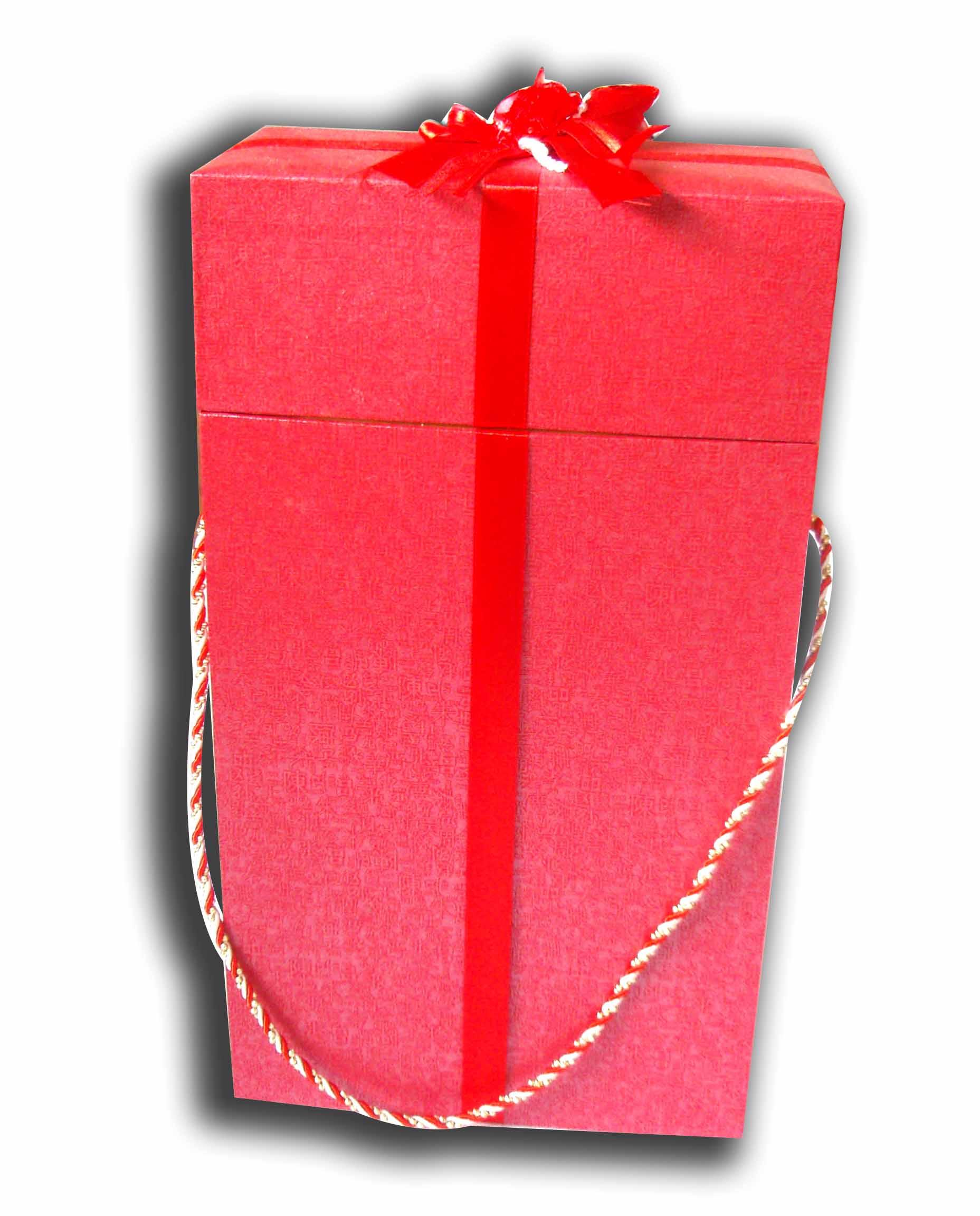 Champagne glass gift box