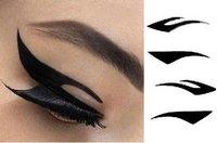 Товары для макияжа 100SETS=400pairs=800pcs 2012 Vintage Eye liner Sticker Shadow Sticker Smoky Eyes Sticker
