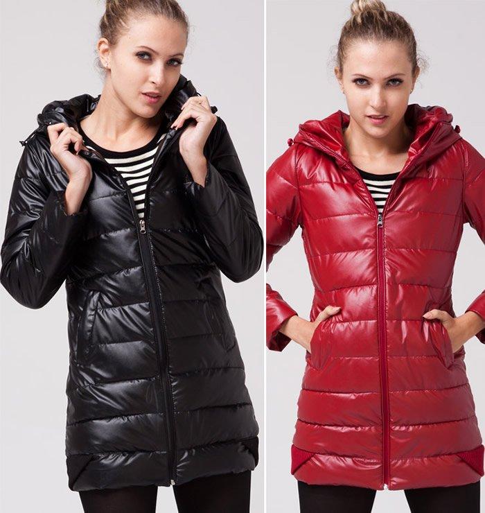 Женская Одежда Куртки Длинные Зимние