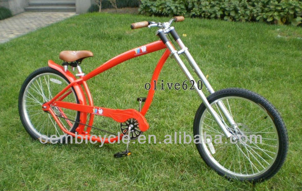 24-26 inch hot sale with colorful frame new model chopper bike for adult