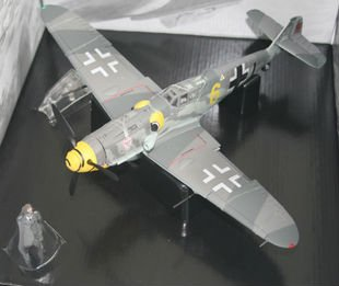 German Messerschmitt BF-109G-6 Fighter toy Diecast Model  Helicopter Simulation aircraft Fighter plane   Birthday gifts