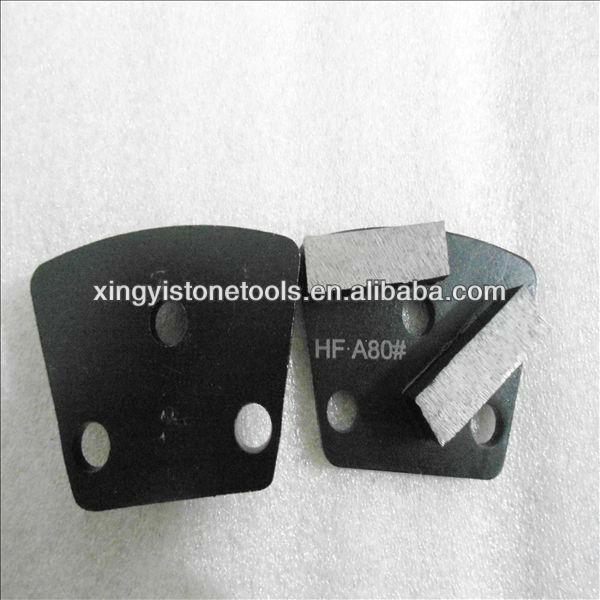 concrete metal pads