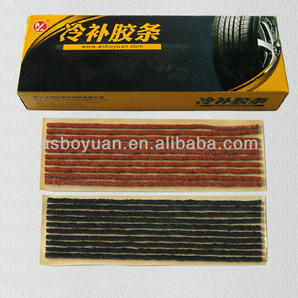 Scooter Bike Automobile Motorcycle Tubeless Tyre Repairing Rubber Strips Tire Repair Strip Sealer
