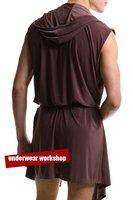 Мужская пижама men's bathrobe /brand home wear /cool fashion homewear/mixed /Brown color