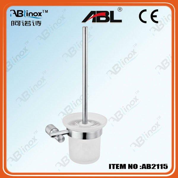 stainless steel bathroom accessories toilet brush holder