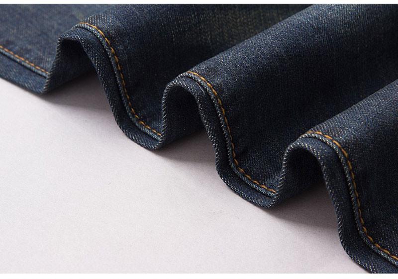 Мужские джинсы Mens Jeans, Fashion Brand Denim Jeans Men, Classical Regular Cotton Jeans, Plus Size 28-42, #X87