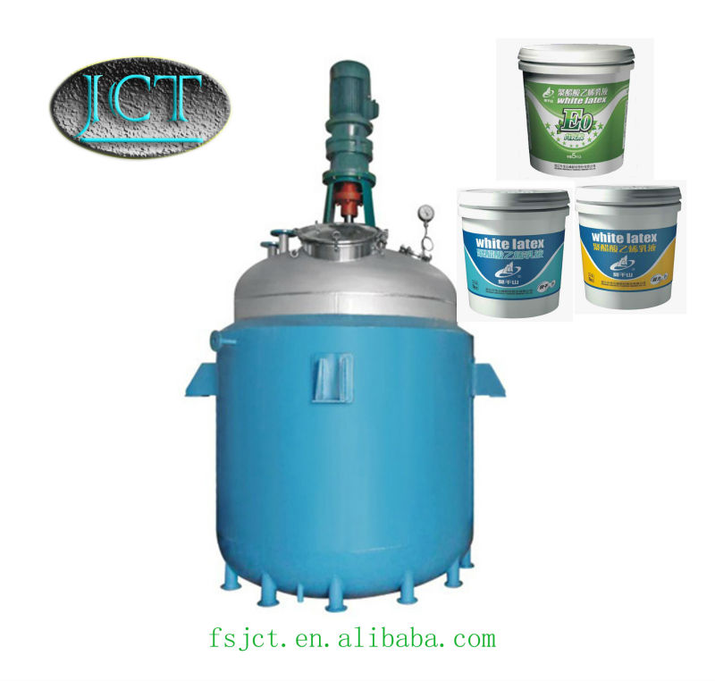 JCT powder adhesive for fabric making reactor