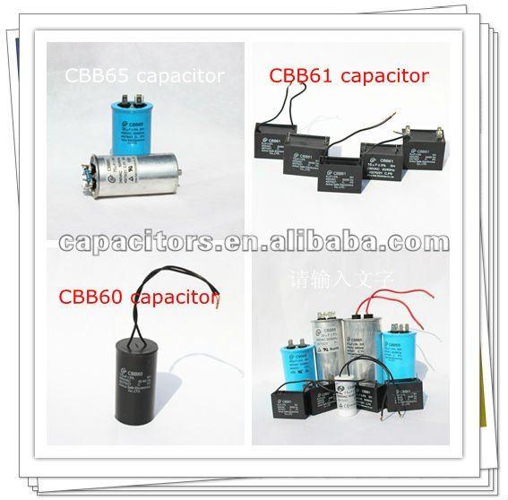 SH cbb65 AC motor running capacitor(80uF 250VAC) hot