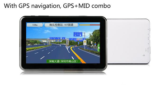 Планшет-навигатор mid pc-7006m с 2-мя сим-картами и tv
