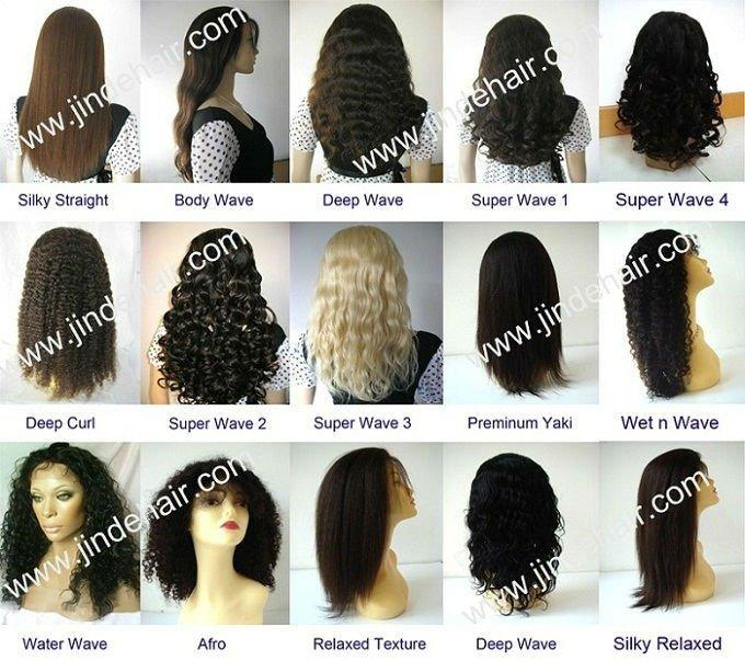 Synthetic hair wig halloween wig