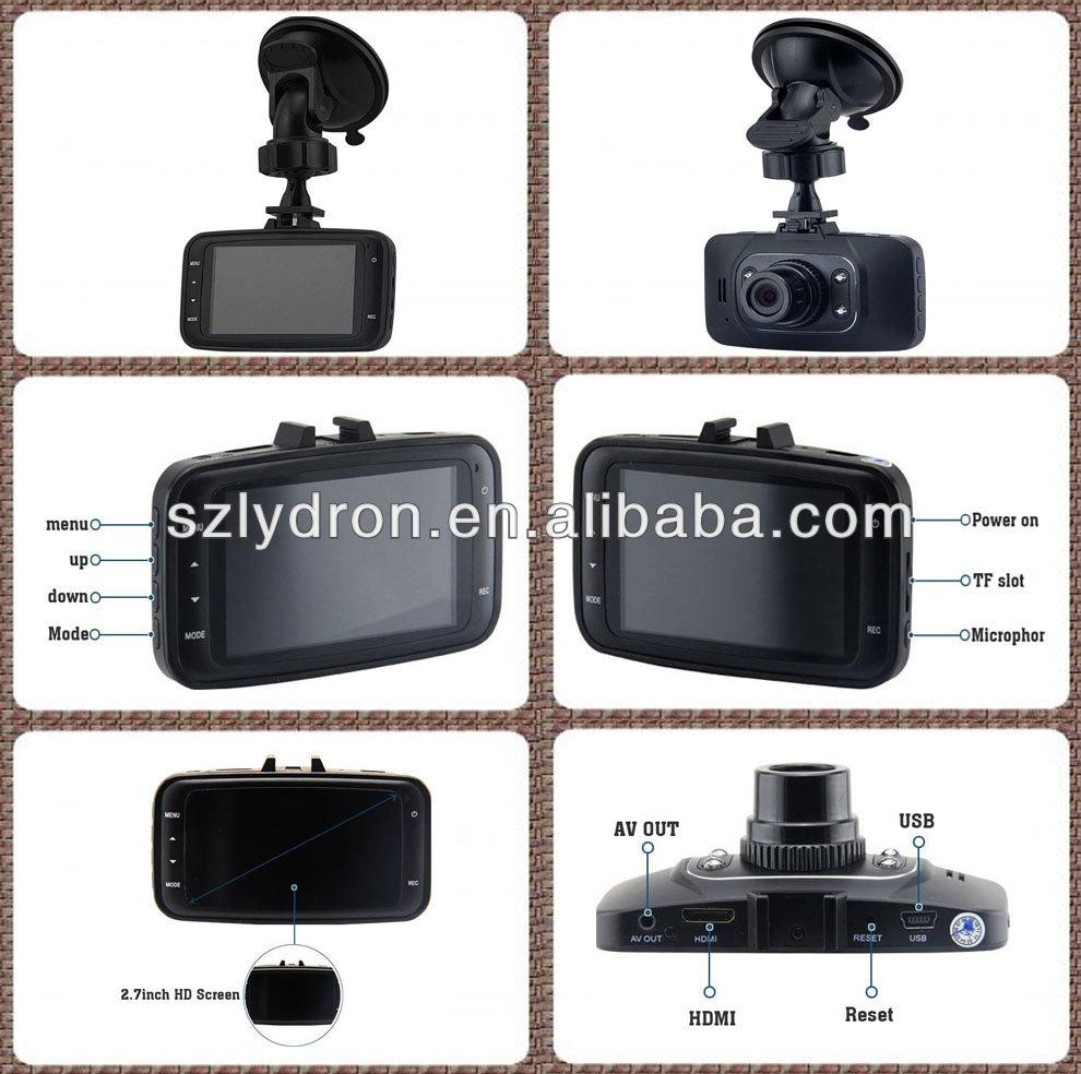 Original En Verre Len NOVATEK 96220 1080 P GS8000L Voiture Caméra DVR