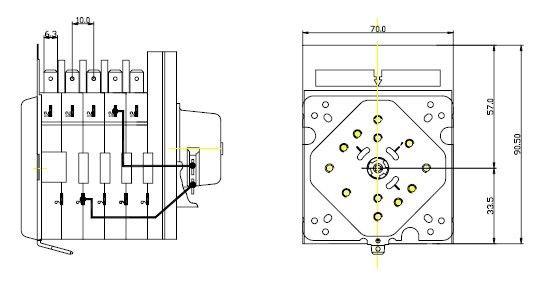 Invensys washing machine timer EC4976