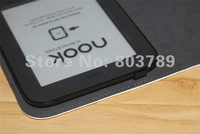 Чехол для планшета hot selling PU leather pouch cover for Barnes & Noble nook 2 / 3 case, retail and