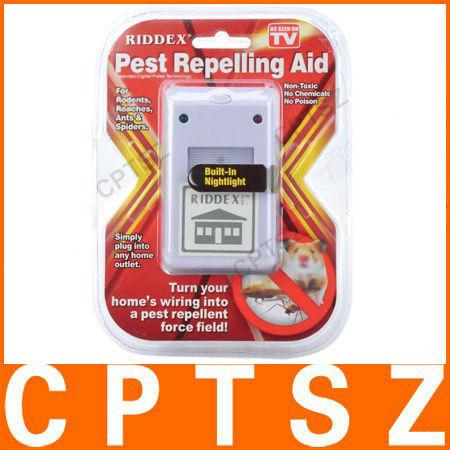 Electronic Ultrasound Mouse Pest Repeller 220V EU Plug