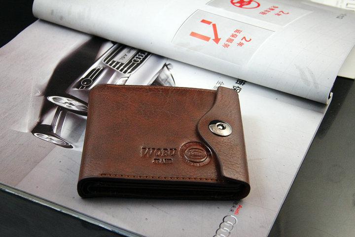 Мужской кошелек из кожи