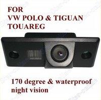 Система помощи при парковке CCD Car Rear View Reverse backup Camera for PORSCHE CAYENNE VW SKODA FABIA/SANTANA/POLO/TIGUAN/TOUAREG/PASSAT/Golf V Variant