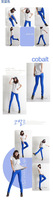 NALULA 2013 Hot Korean Wholesale Free Shipping Fashion Women Sexy Candy Colors Pencil Pants Slim Skinny Stretch Jeans NV2305