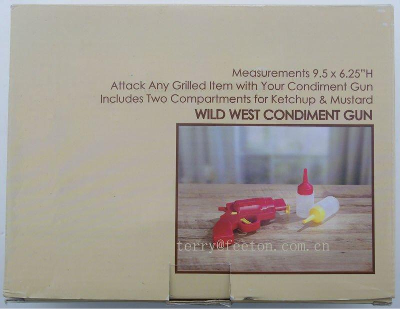 condiment gun set 3pc