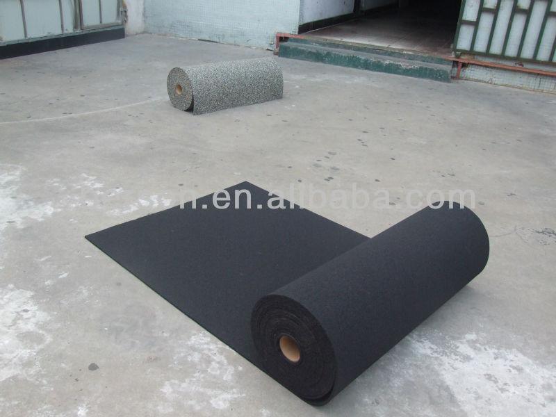 Noir recycl en caoutchouc sous couche pour volley ball tennis de sous sol g - Different type de gazon ...