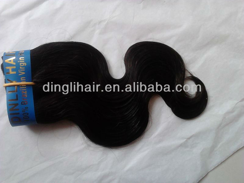 wholesale in stock virgin brazilian hair weave