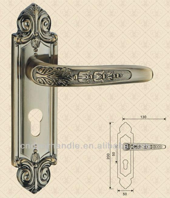 Modern interior door handles types of handles door lock plates buy handles door lock plates - Different types of bedroom door locks ...