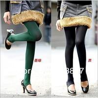 высокое качество новый стиль женщины зимой утолщению ноги брюки леггинсы