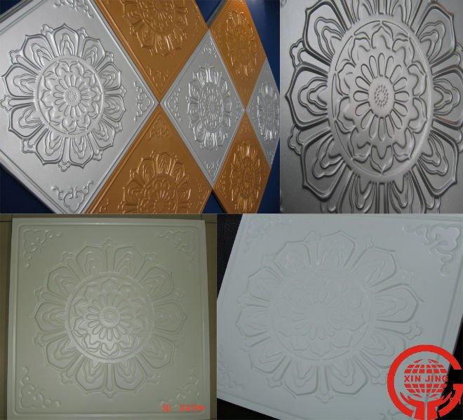 Aluminum ceiling tiles