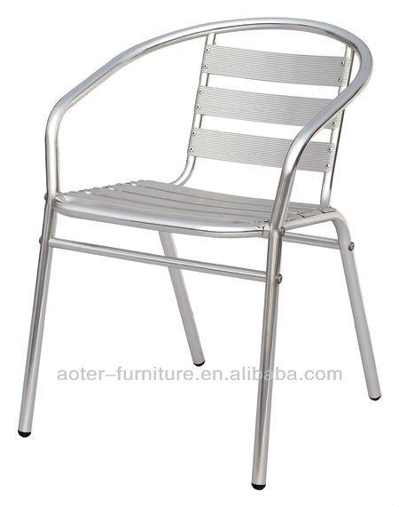 정원 금속 알루미늄 프레임 스택 식당 의자-금속 의자 -상품 ID ...
