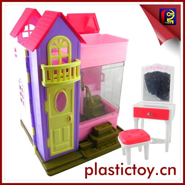 plstico de casas para nios baratos con el beb juguetes de la mueca ach
