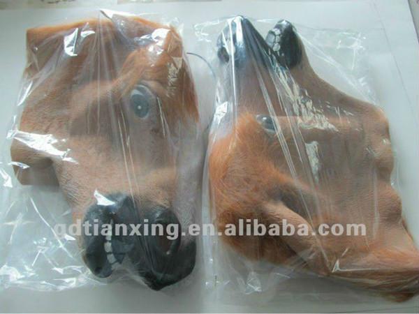 Alibaba Halloween Creepy Cry Baby Mask Full Head Face Latex Mask
