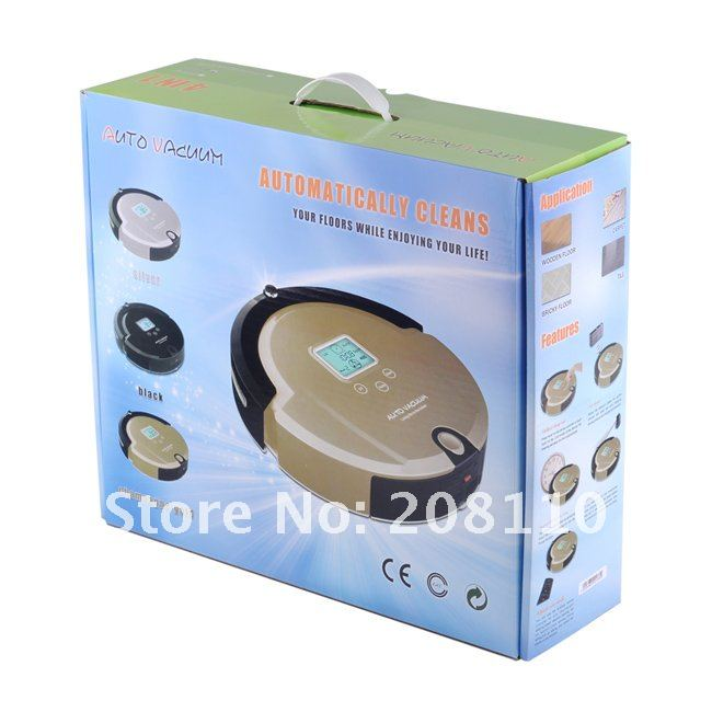 4 In 1 Multifunctional Robot Cleaner Vacuum, LCD,Touch Button,Wireless Remote,Similar Function To Irobot Roomba