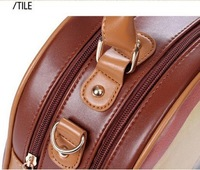 Сумка Vintage Retro School Campus Girl Satchel Shoulder Cross Body Bag HandBag Brown