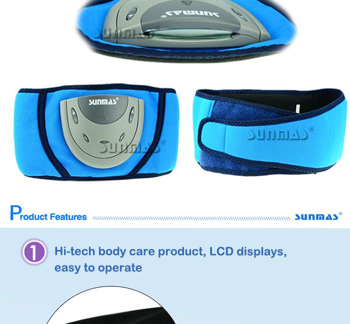 SUNMAS SM9068 AB sport fitness equipment exercise belt massager