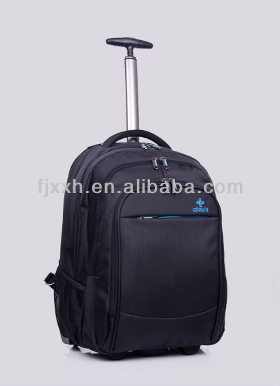 Deluxe business backpack laptop trolley bag